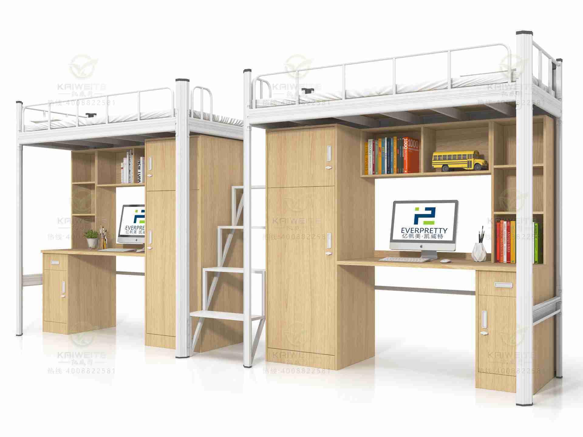 学生用公寓床_学生公寓床_公寓床厂家-凯威特家具|