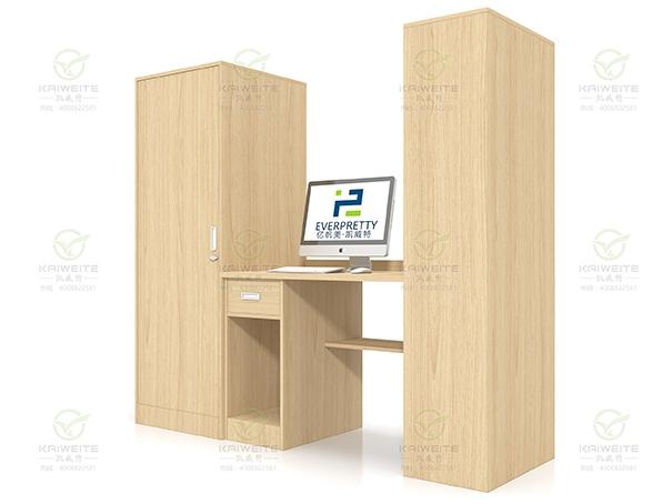 学生宿舍家具书桌木柜